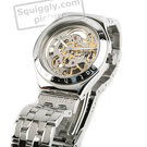 Skeleton Steel Automatic Watch Fall Winter Collection Swatch