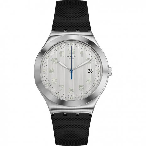 Swatch Côtes Silver watch