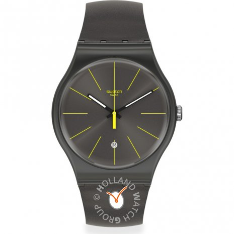 Swatch Charcolazing watch