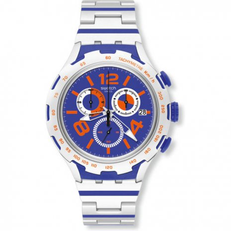 Swatch Chemical Blue watch