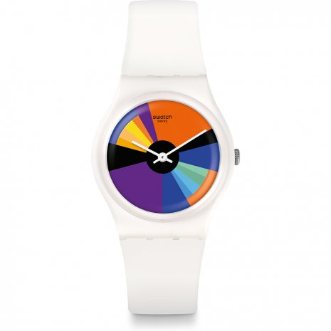 Swatch Color Calendar watch