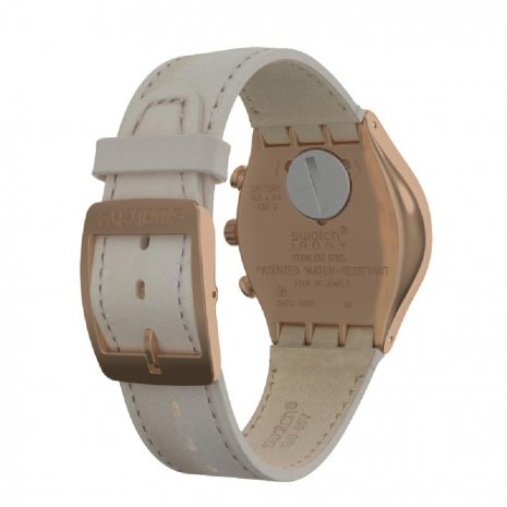 Rose Gold Steel Irony Chronograph Spring Summer Collection Swatch
