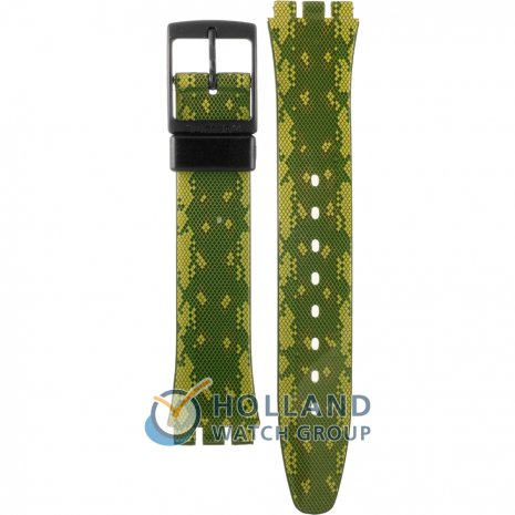 Swatch GB253 Snaky Green Strap