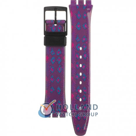 Swatch GB256 Snaky Purple Strap
