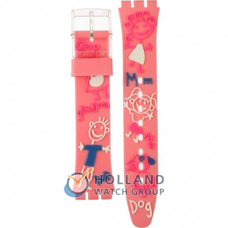 Swatch GE166 Family Portrait Strap