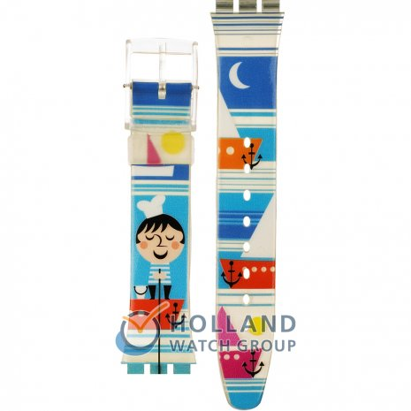 Swatch GE176 Fisher Boat Strap