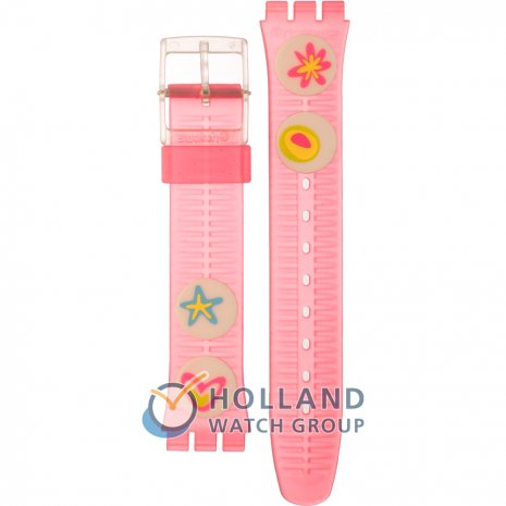 Swatch GE177 Pink Candy Strap