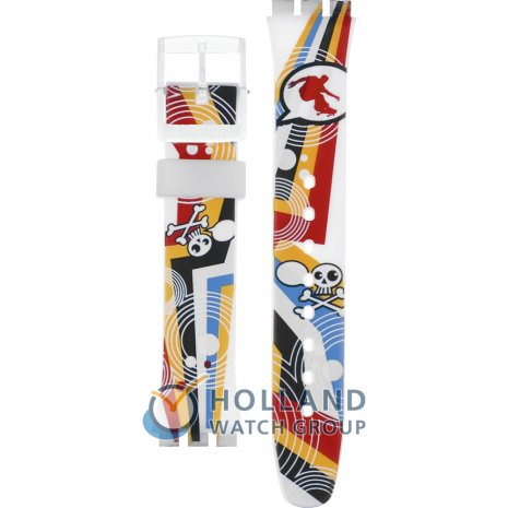 Swatch GE198 Crazy Youngsters Strap