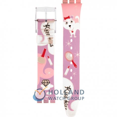 Swatch GE208 Dulce Cat Strap