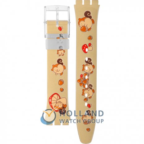 Swatch GF113 Squirrel Time Strap