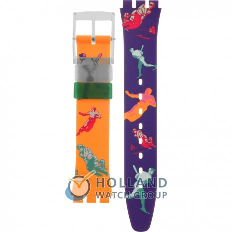 Swatch GG117 Curling Strap