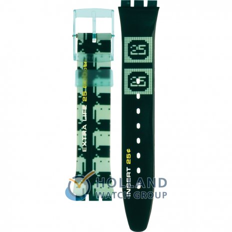 Swatch GG901 Monster Game Strap