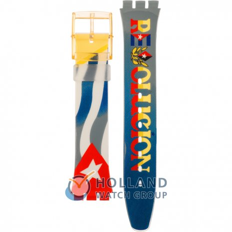 Swatch GJ115 To Che Strap