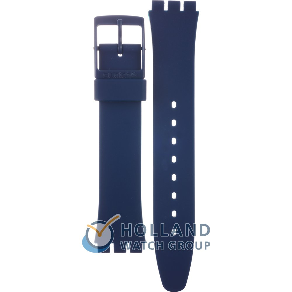 f77c4420692 Swatch AGN252 Strap - GN252 Blueway