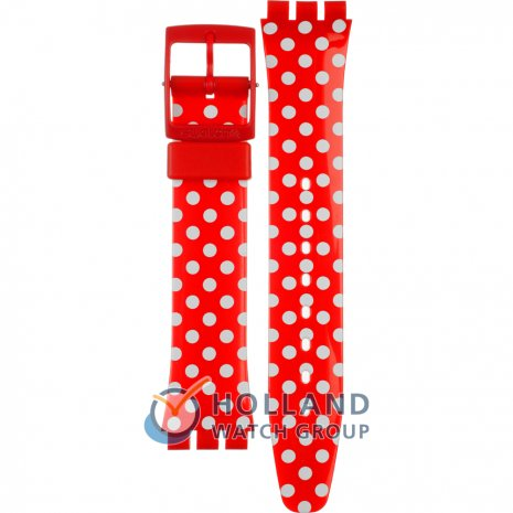 Swatch GR154K Cherry-Berry Dots Strap