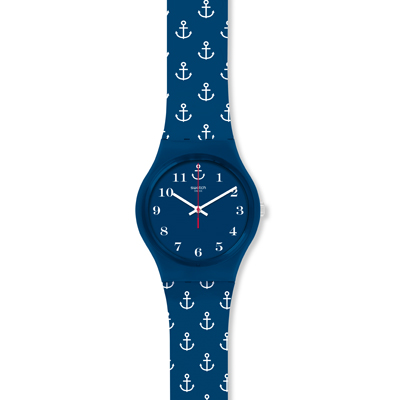 Swatch Mgn247 Watch Anchor Baby