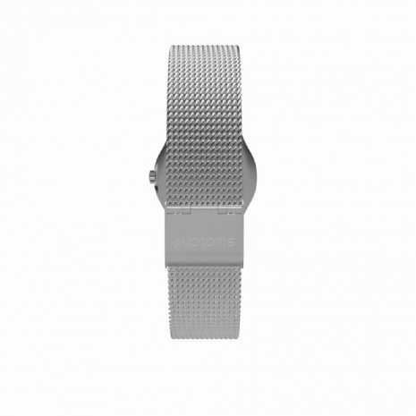 Silver Irony Ladies Watch Spring Summer Collection Swatch