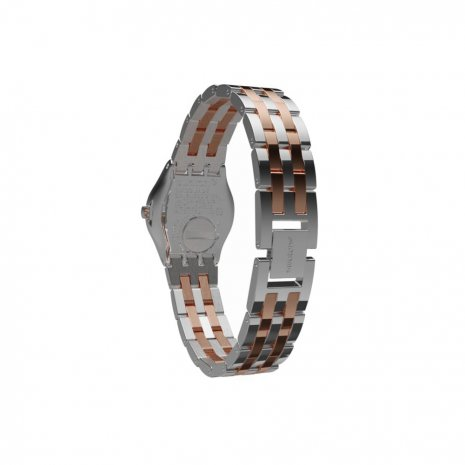 Two Tone Irony Ladies Watch Fall Winter Collection Swatch