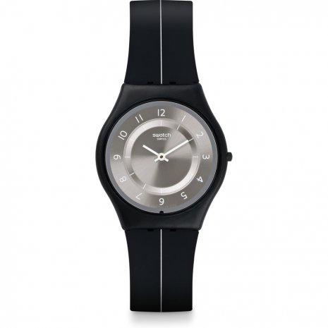 Swatch My Silver Black watch