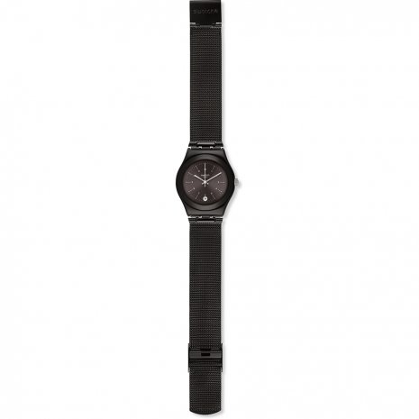 Black Irony Medium Watch Fall Winter Collection Swatch