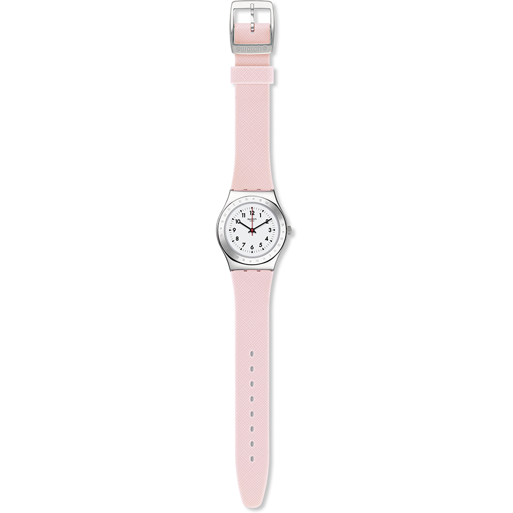 Swatch Yls200 Watch Pink Reflexion
