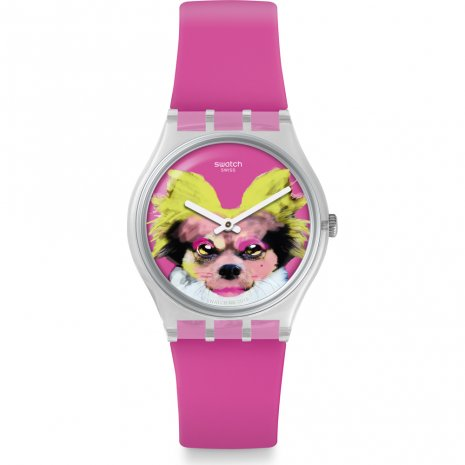 Swatch Pinkapippa watch