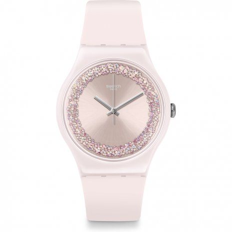 Swatch Pinksparkles watch