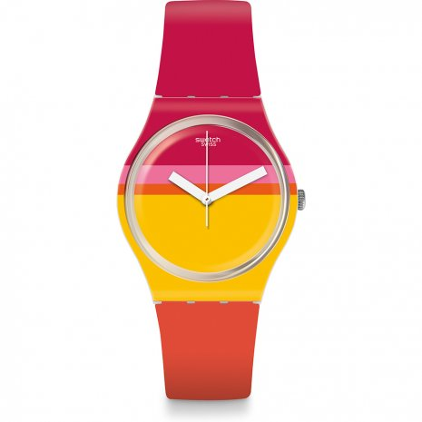 Swatch Roug'Heure watch