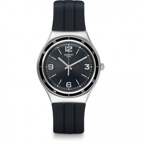 Swatch Shiny Black watch