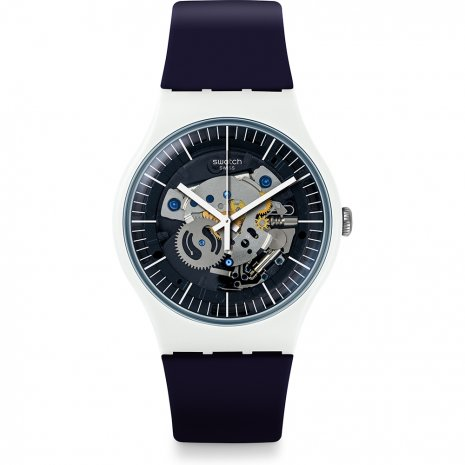 Swatch Siliblue watch