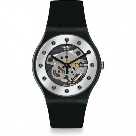 Swatch Silver Glam watch