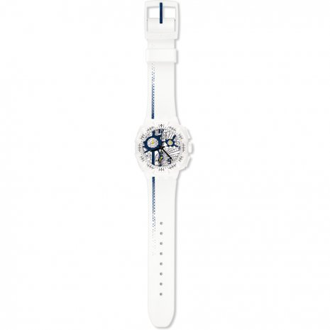 Swatch Street Map Blue 手表