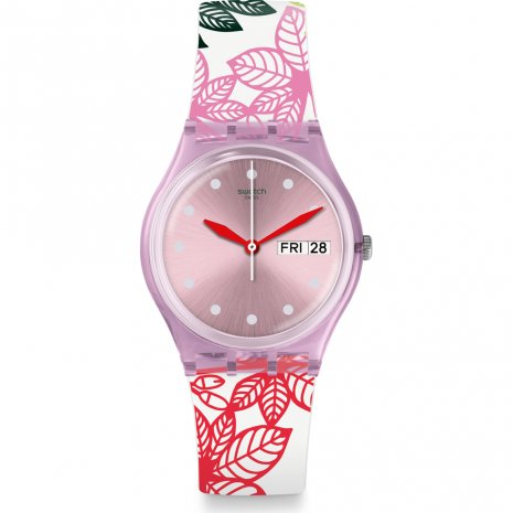 Swatch Summer Leaves 時計