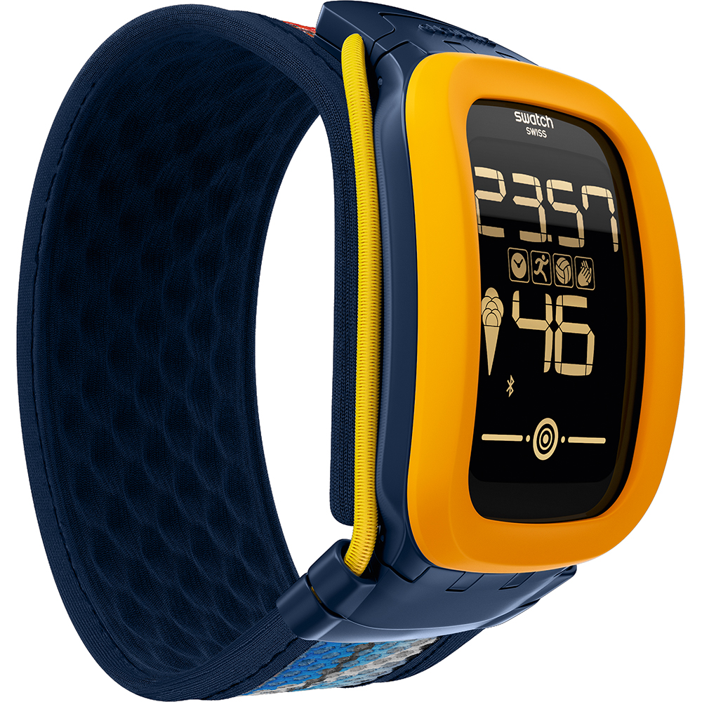 swatch touch batteria