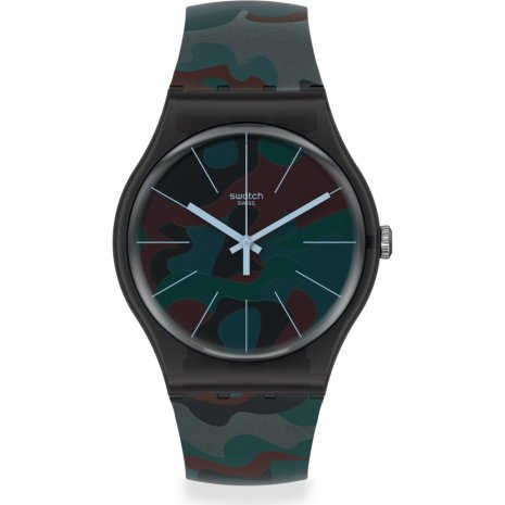 Swatch Camoucity watch