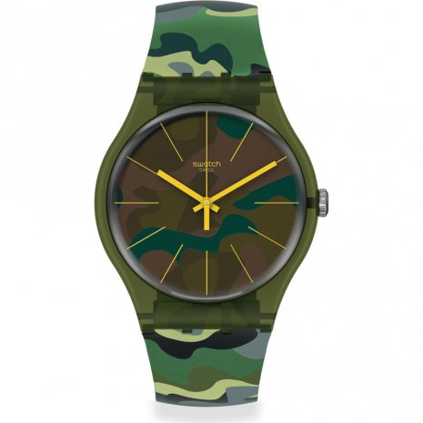 Swatch Camouforest watch
