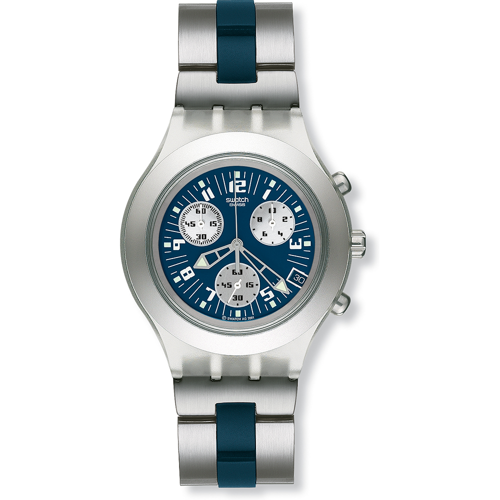 swatch svck4001g watch thunderstorm flip