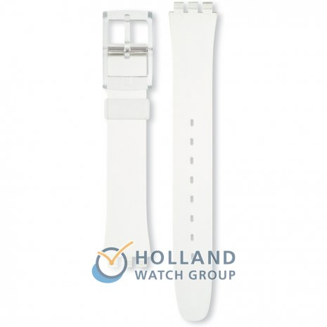 Swatch Transparent Standard Ladies Strap Strap