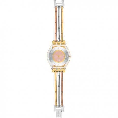 Swatch watch bicolor