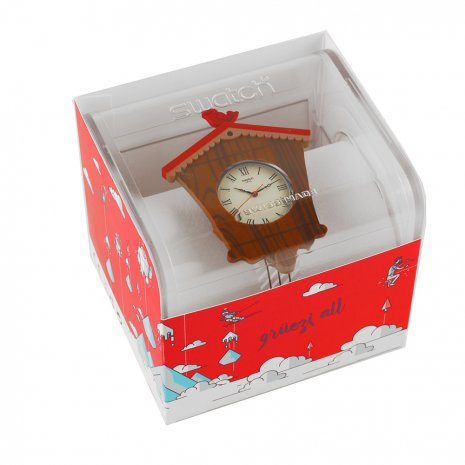 Swatch watch Brown