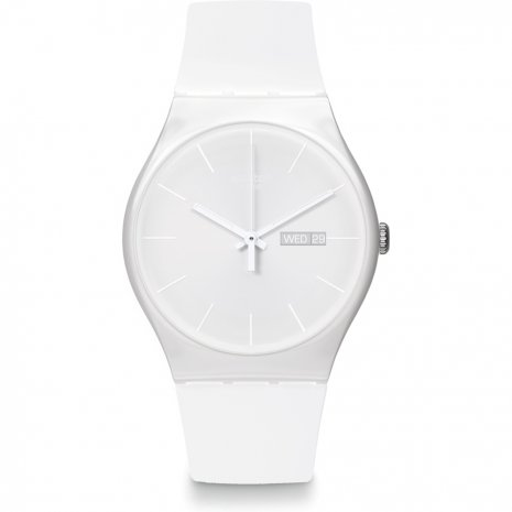 Swatch White Rebel watch