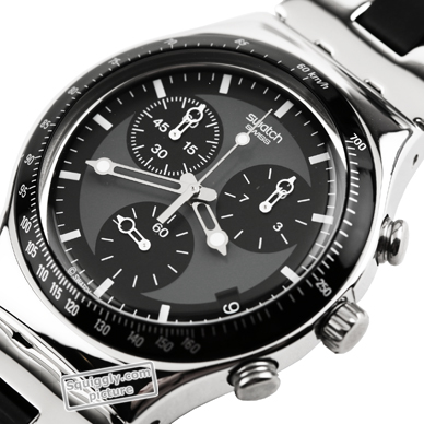 Swiss Made Steel Chronograph with Date Spring Summer Collection Swatch