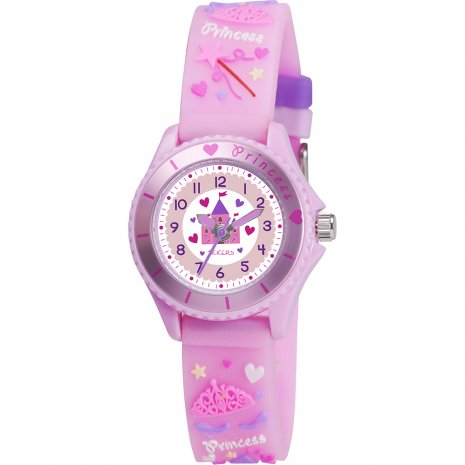 Tikkers kids Princess castle watch