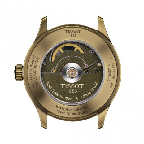 Swiss made automatic watch with date Spring Summer Collection Tissot