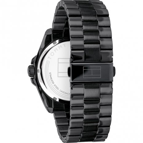 Tommy Hilfiger watch black