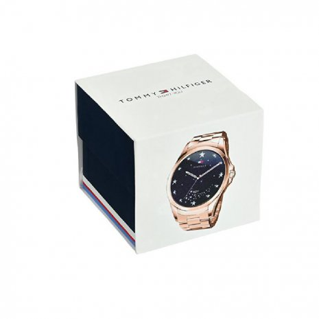 Rose Gold Ladies Touchscreen with Steel Bracelet Fall Winter Collection Tommy Hilfiger