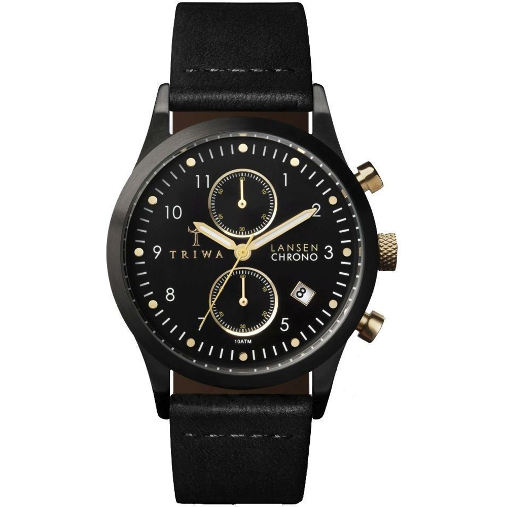 Lyst - Triwa Beluga Chrono Watch in Black for Men
