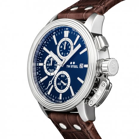 TW Steel watch blue