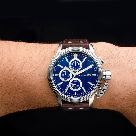XL Steel chronograph with date Fall Winter Collection TW Steel