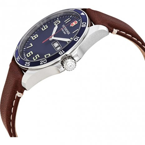 Swiss Made Quartz Gents Watch with DayDate Spring Summer Collection Victorinox Swiss Army
